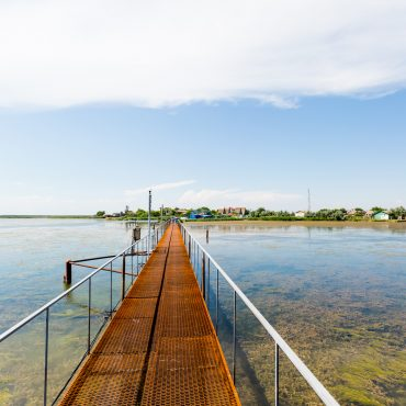 Мост через лиман - Туркомплекс Катран